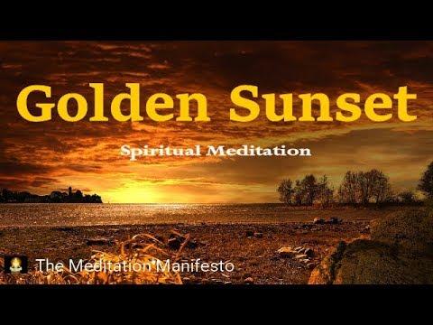 golden-sunset,-spiritual-contemplation-music,-sleep-music,-meditation