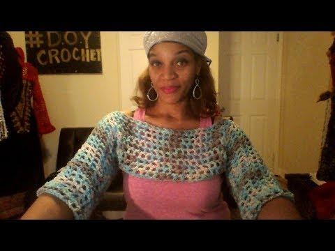 DOY-  Crochet Crop Top Tutorial/Easy