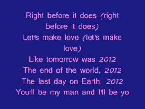 2012 by Twista feat. Tia London {lyrics}