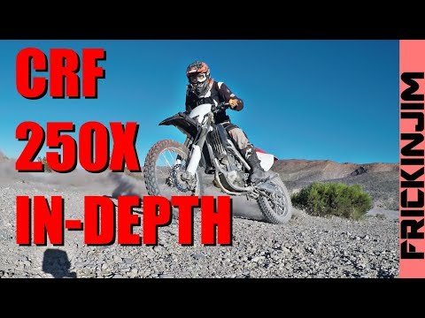 CRF250X In-Depth Review