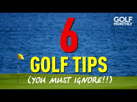 6 GOLF TIPS (YOU MUST IGNORE!!) from YouTube · Duration:  12 minutes 18 seconds