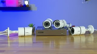 Zosi 1080p PoE 4CH IP Security Camera System Review