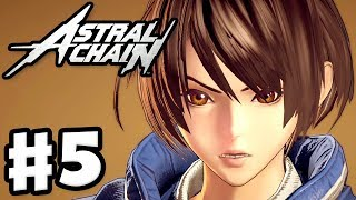 Astral Chain - Gameplay Walkthrough Part 5 - File 05: Accord! (Nintendo Switch)