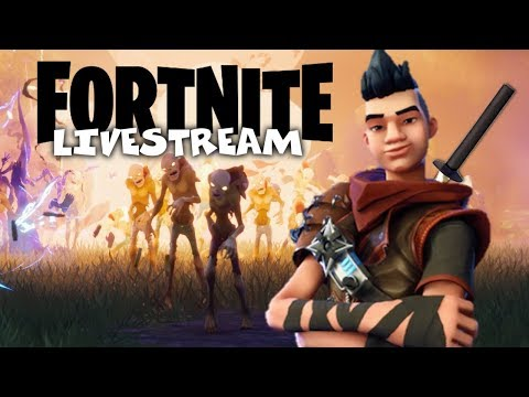 Enter the Dragon! - Fortnite Xbox One Gameplay - Multiplayer Livestream