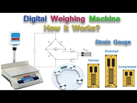 Digital Weighing Machine: Working Principle & Uses - YouTube
