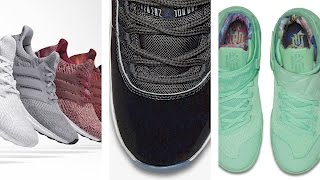 So MANY Space Jam JORDAN 11 and New adidas ULTRA Boost Sneakers - Today in Sneaks