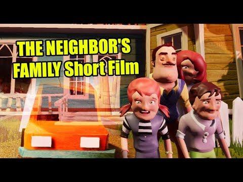 Hello Neighbor SAVING THE NEIGHBOR'S FAMILY Short Film