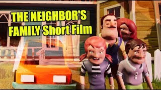Hello Neighbor SAVING THE NEIGHBOR'S FAMILY Short Film
