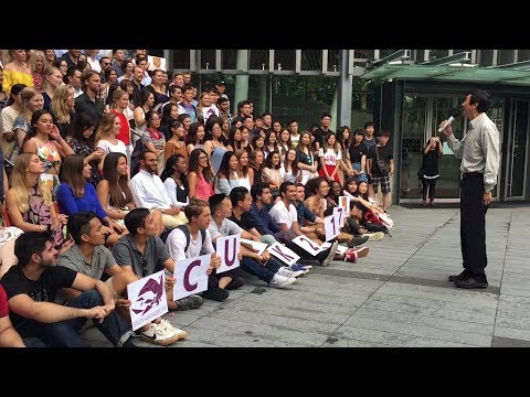 A warm welcome to international students at CUHK