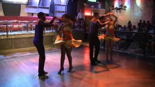 DR 2nd professionals: Wander&Lary&Hendrick&Mariel: Salsa show