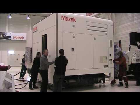 Yamazaki Mazak on Air Casters from Aerofilm Systems