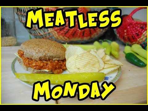 Meatless Monday Quick And Easy Dinner Idea- TVP Sloppy Joe