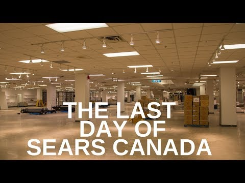 The Last Day Of Sears Canada