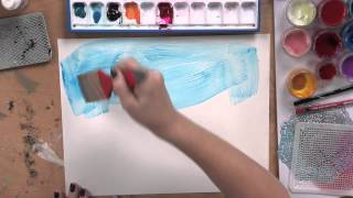 Create a Textured Watercolor Wash on YUPO® Paper with Jodi Ohl