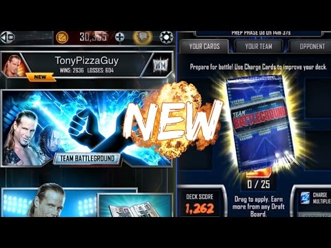 30,000 CREDITS & TEAM BATTLEGROUND - WWE SuperCard Season 3 NEW Update