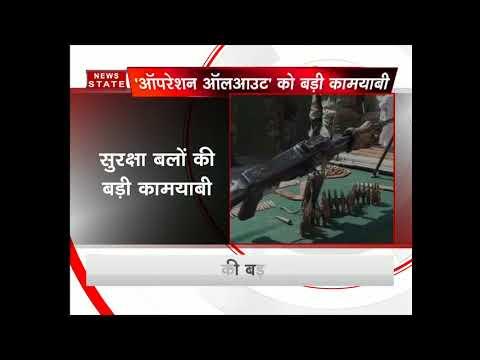 Jammu and Kashmir: Army busts terrorist hideout in Handwara; seizes huge cache of arms, ammunition
