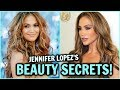 Jennifer Lopez Beauty Hacks! │ JLO's Skin Care Secrets & Anti-Aging Tips for Glowing Clear Skin!