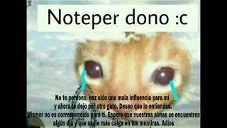 Noteper dono :c