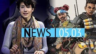 EA bestätigt Abstürze von Anthem auf der PS4 - Apex feiert 50 Millionen Spieler - News