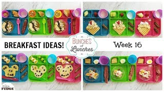 FUN Breakfast Ideas for KIDS + What They Ate || Bunches of Lunches (Breakfast Edition)