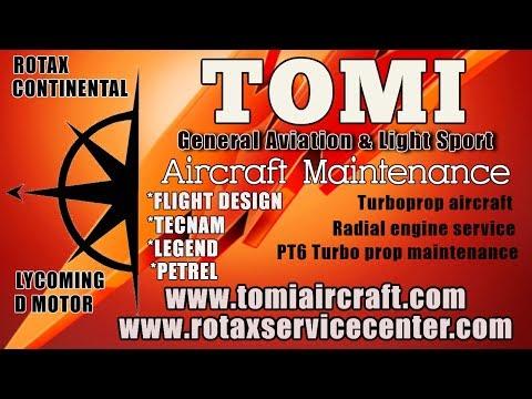 Rotax 912 ULS 100 HP Aircraft Engine Service