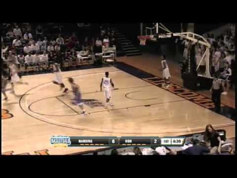 Harding Academy's Allen makes a 3pt shot off good ball movement