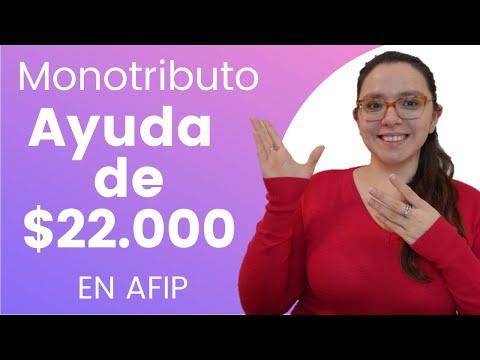Cómo inscribirte al Programa de Asistencia para Monotributistas de AFIP