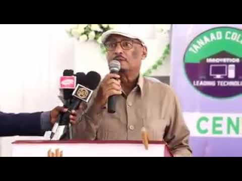 Guddoomiyaha Xisbiga UCID Eng Faysal Cali Waraabe Oo Sheegay In Garoowe Qabsan Doonaan Haddii ......