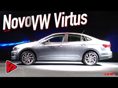 Primeiras Impressões Novo Volkswagen Virtus Highline 2018 200TSI (Polo Sedan)  |Top Speed