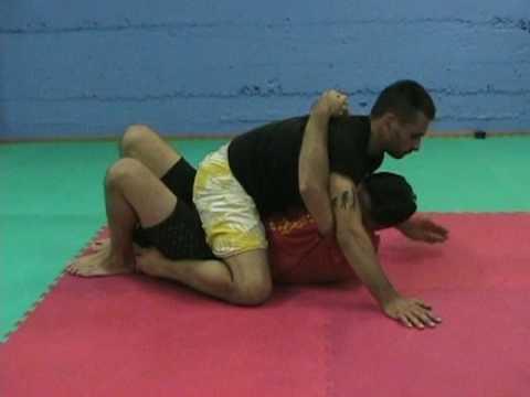 MMA BJJ Mount Escape to Omoplata  by Burton Richardson