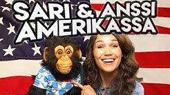 Sari ja Simpanssi-Anssi AMERIKASSA  | Vatsastapuhujien kokoontumisajot!