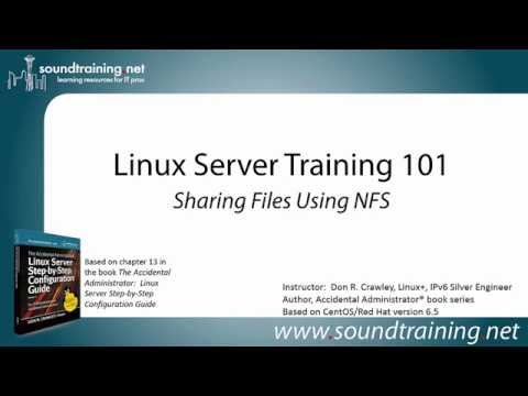 How to Share Files Using NFS: Linux Server Training 101