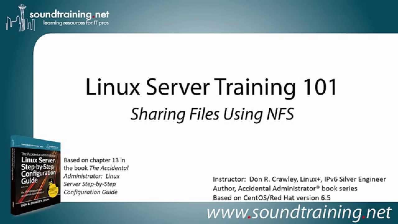 Configure NFS server on Linux - Server Backup - Server ...