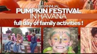 16th Annual Havana Pumpkin Festival commercial featuring the Wailin' Wolves Band