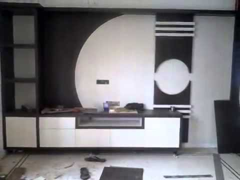 Hall Cupboards Furniture hall t v unit design8 streaks interiors - youtube