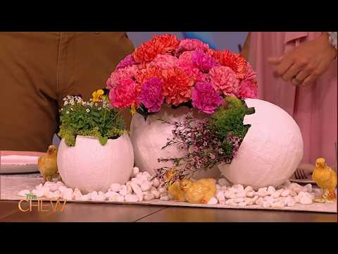 Easter Crafts from the Crafty Lumberjacks! | The Chew