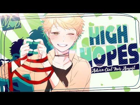 「M♥P」High Hopes // Adrien+Chat Noir August