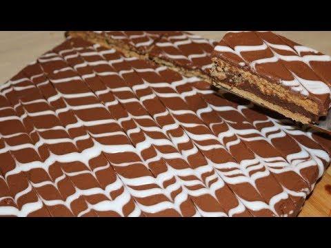 MILLE FEUILLE AU CHOCOLAT FACILE (CUISINERAPIDE)