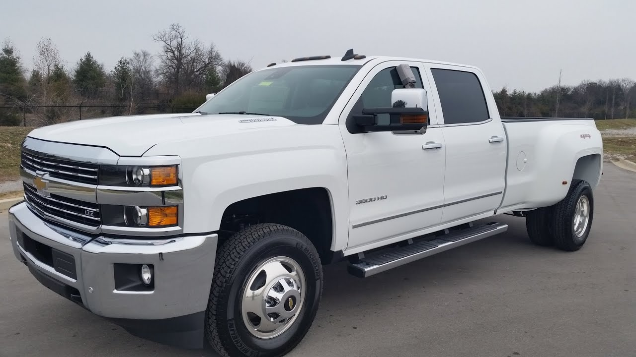 Sold 2015 5 chevrolet silverado 3500 hd crew cab ltz drw summit white duramax call 855 507 8520 youtube
