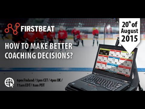 New Firstbeat Sports Monitor - Coaching Tool Usability Redefined | Firstbeat Sports Webinar