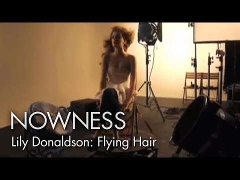 The Making of Lily Donaldson's Flying Hair