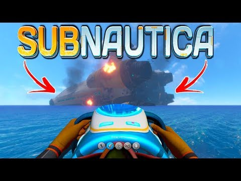TIME TO GO TO THE AURORA SHIP (Subnautica Full Release Gamep