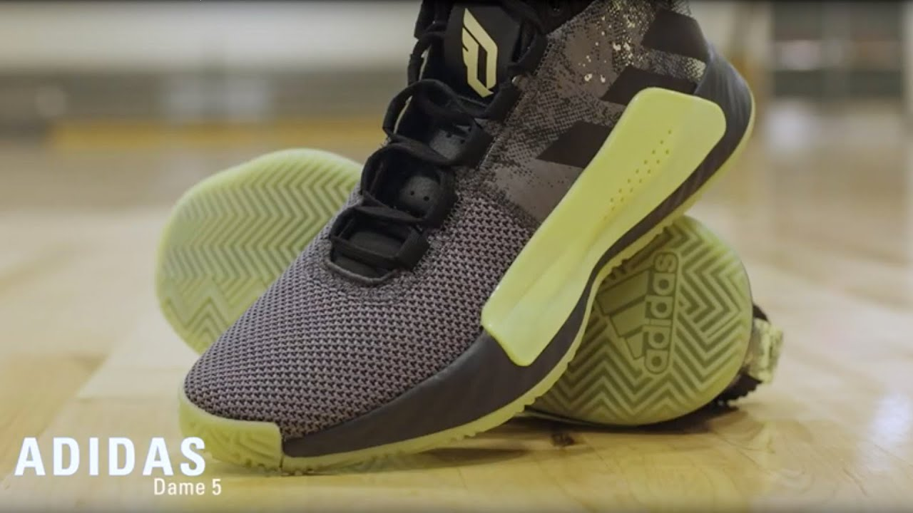 adidas Dame 5 Basketball Shoe Overview
