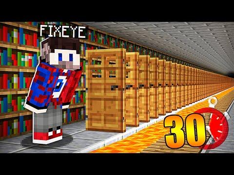 😱У тебя есть ТОЛЬКО 30 СЕКУНД чтобы СБЕЖАТЬ в Майнкрафт!