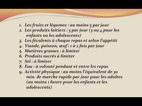 Nutrition: Croire ou non aux Sources d'Information Officielles (MangerBouger.fr)