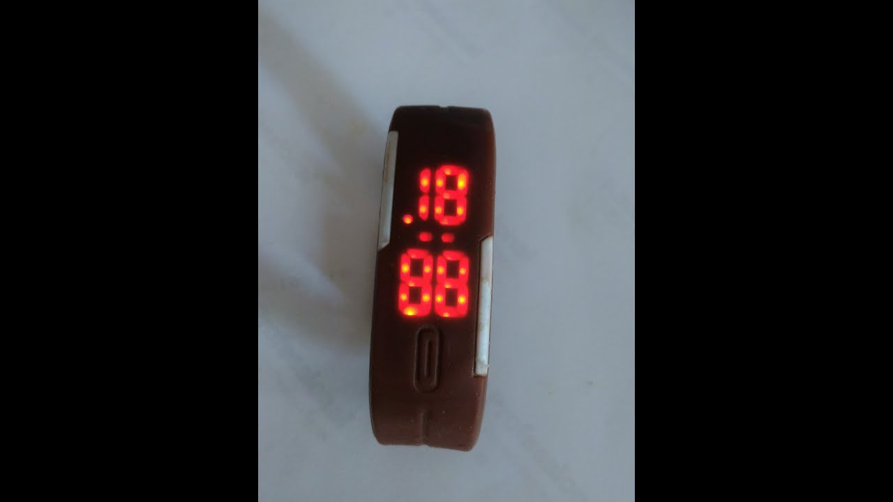 How to Set the LED Watch