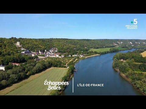 L'Île de France, de village en village - Échappées belles