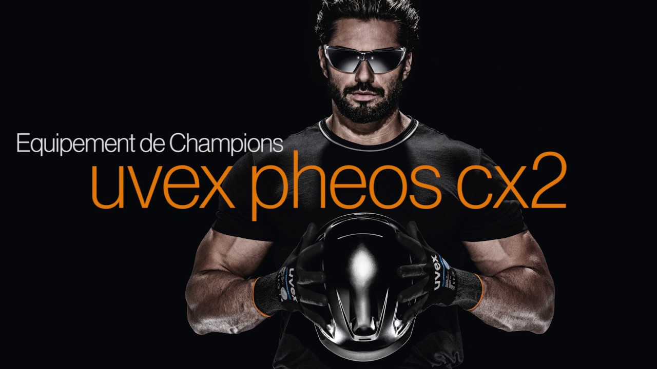 equipement de champions la nouvelle lunette de protection uvex pheos cx2 youtube. Black Bedroom Furniture Sets. Home Design Ideas