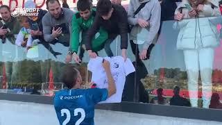 Дзюбамания в Испании Что творилось после матча Зенит ЦСКА