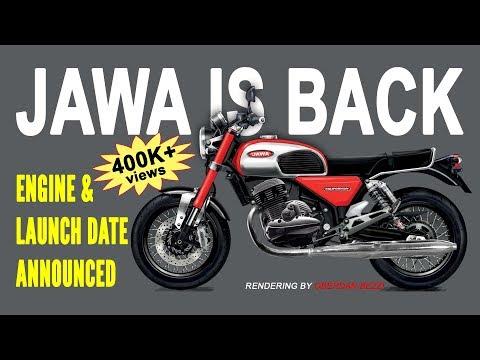 2018 JAWA Engine Details || JAWA Launch Date Announced || Jawa Bike 2018